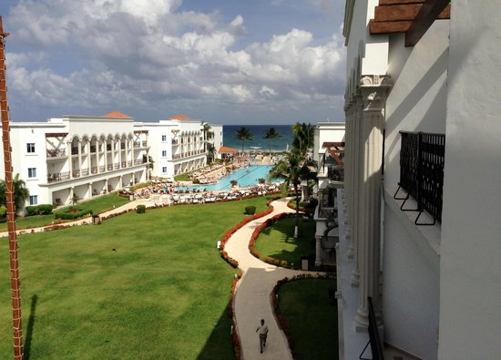 The Royal Playa del Carmen: View from our room.