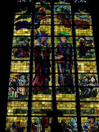 Eglise Saint Maurice: saint maurice - vetrata 5