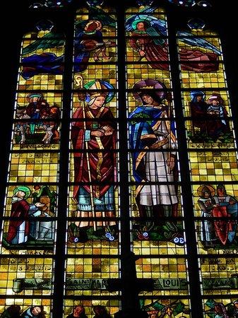 Eglise Saint Maurice: saint maurice - vetrata 6