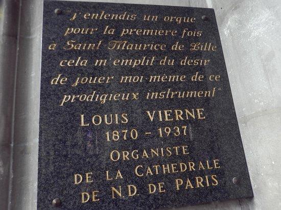Eglise Saint Maurice: saint maurice - targa commemorativa