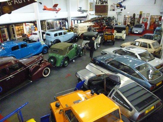 Lakeland Motor Museum: Main exhibition hall
