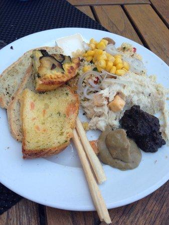 Victor Cafe: Tout est très appétissant et donne envie d'y goûter
