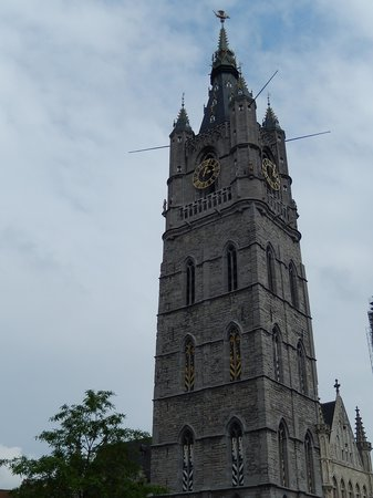 Belfry and Cloth Hall (Belfort en Lakenhalle): belfort gand 3