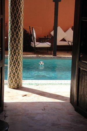Villa Amira et SPA: in piscina