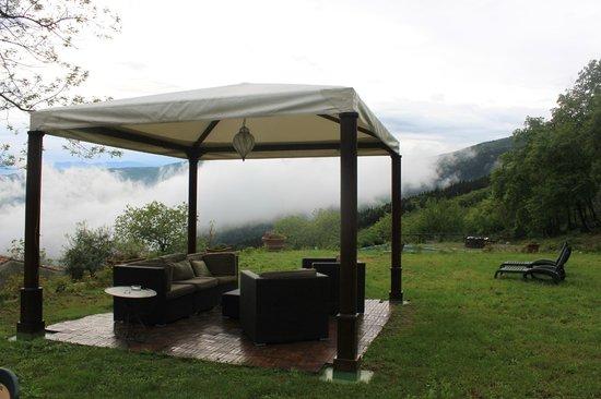 Tenuta Lonciano: spacious garden