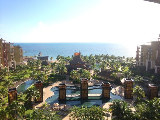 Villa del Palmar Cancun Beach Resort & Spa: Morning View from Room