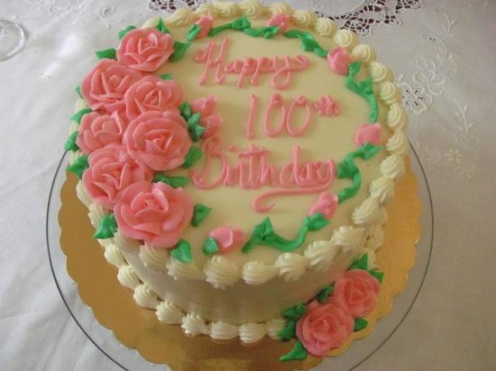 Sweet Cakes: 100th Birthday Cake