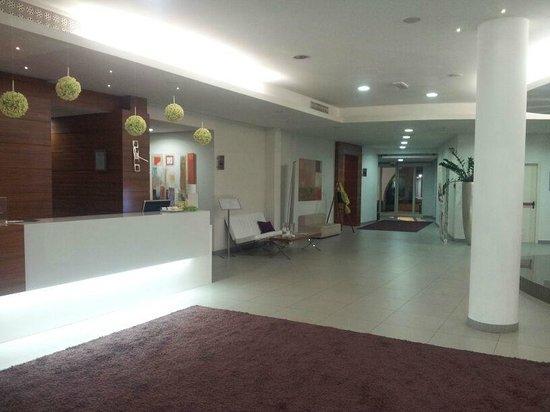 Hotel Touring: lobby en receptie