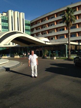 Hotel Paraíso de Albufeira : The imposing entrance