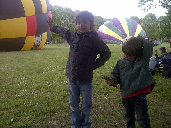 Ballon Plaisir : les loulous