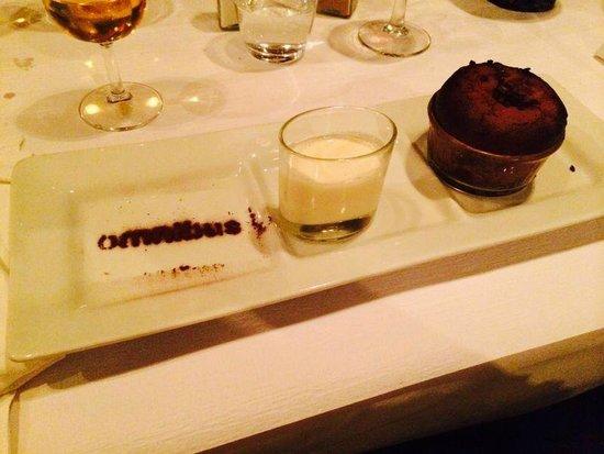 L'Omnibus: desserter chocolat fondant