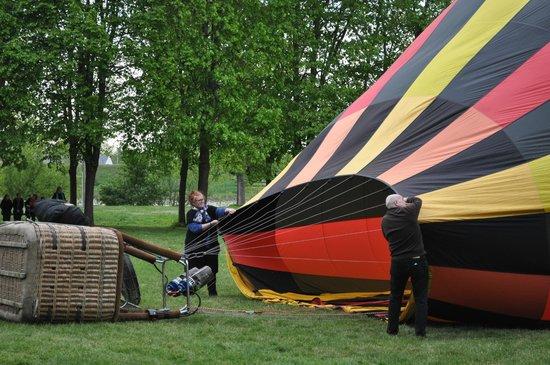 Ballon Plaisir : aide au gonflage