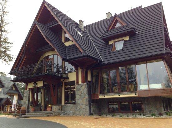 Willa Pod Skocznia: The hotel