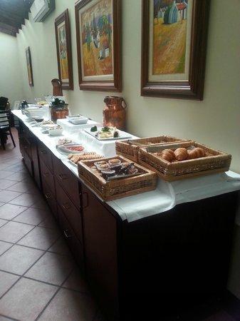 Budmarsh Country Lodge: Breakfast