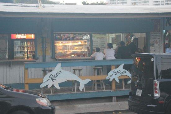 El Racar Seafood Restaurant: Racar Seafood - Las Croabas, Fajardo, PR
