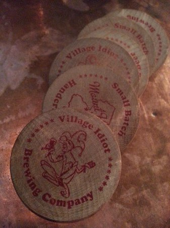 Village Idiot Brewing Company: Tokens = Great Beer to Sample