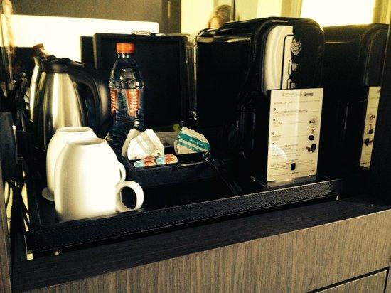 InterContinental Marseille - Hotel Dieu : Kaffeemaschine