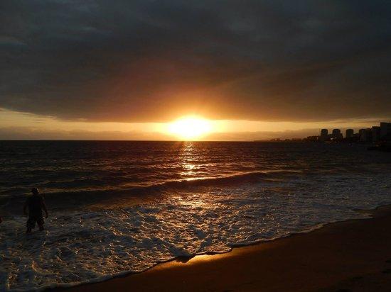 Crown Paradise Golden Resort Puerto Vallarta: One of many sunsets