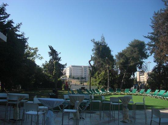 Jerusalem Gardens Hotel & Spa: Vue de la piscine