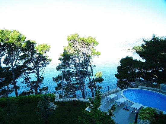 Villa Paulina: View from the balcony