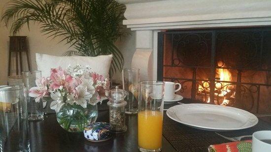 La Joya Hotel San Cristobal : El desayuno wow!