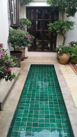 La Joya Hotel San Cristobal : El espejo  de agua