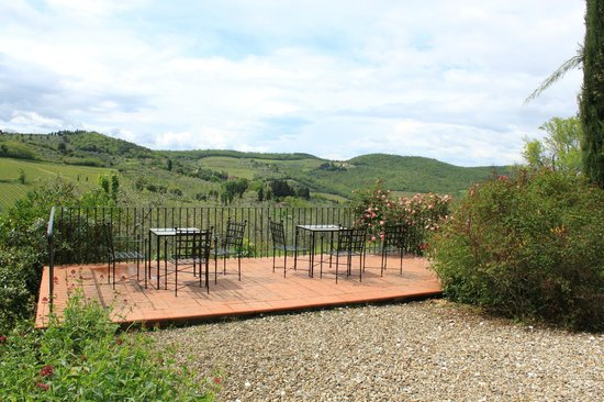 Relais Fattoria Valle in Panzano: next view from rear side