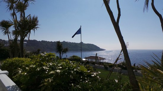 The Royal Duchy Hotel : The fantastic location overlooking Pendennis Castle and the Bay