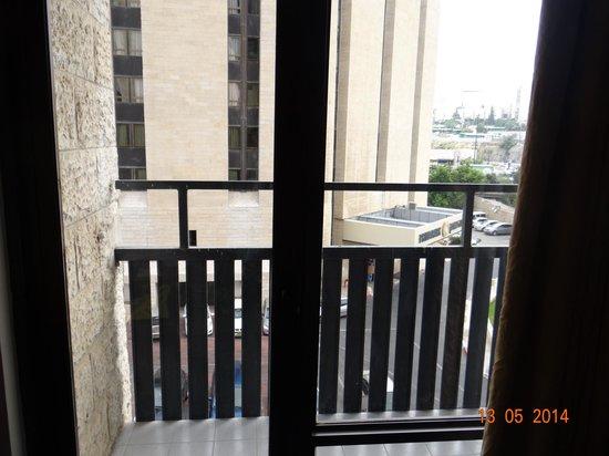Jerusalem Gardens Hotel & Spa: Vue de la chambre