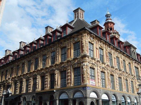 vieille bourse lille - edificio