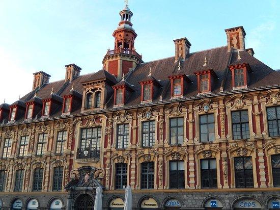 vieille bourse lille - lato grand place