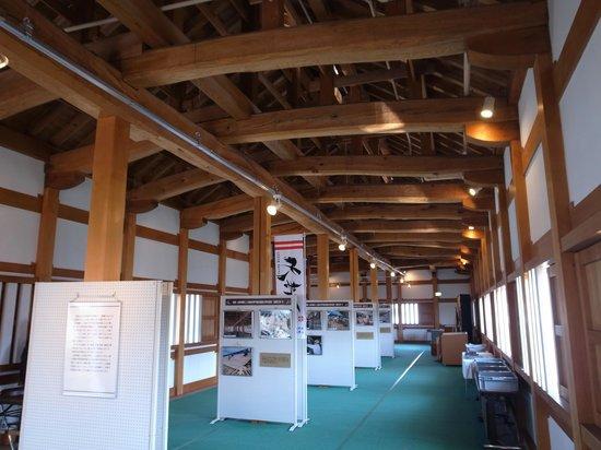 Yamagata castle: 東大手門内部
