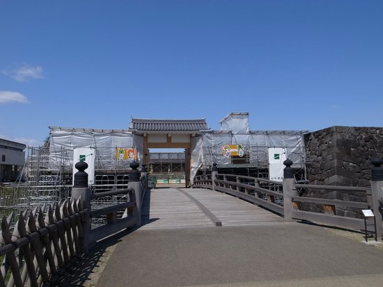 Yamagata castle: 一文字門