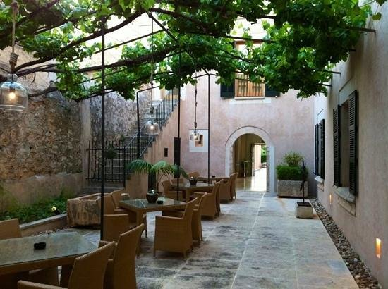 Hotel Ca'n Bonico: Sehr schöner Patio