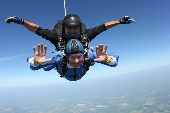 GoSkydive: Tommy Cooper at 10,000ft