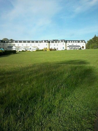 Bloomfield House Hotel, Leisure Club & Spa : A view from afar