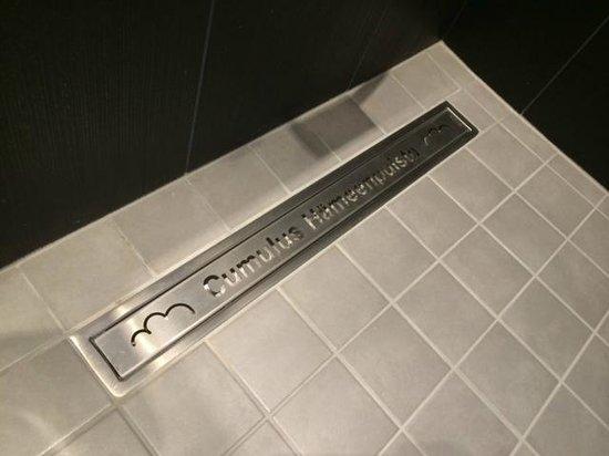 "Cumulus Hameenpuisto : ""Cool"" shower floor drain..."