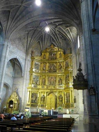 Iglesia de Santiago el Real : Retablo