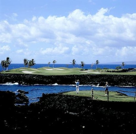 Fairways at Mauna Lani: championship golf courses
