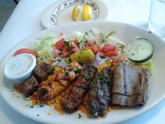 Bosphorus Restaurant: Meat Platter