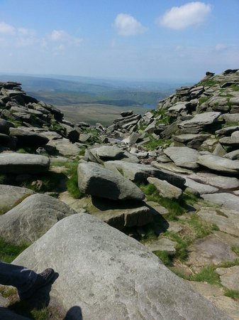 Kinder Scout: Kinder downfall