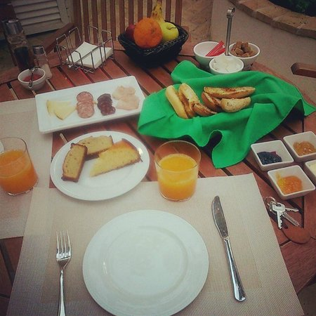 Posada de Quijada: café da manhã