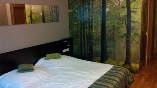 Hotel D'Coque : Chambre
