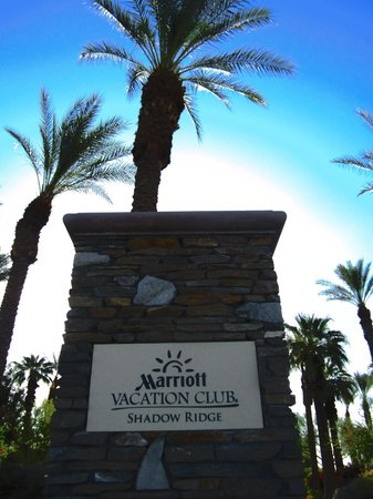 Marriott's Shadow Ridge II- The Enclaves: You have Arrived!