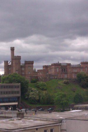 Premier Inn Inverness Centre (River Ness) Hotel: view of the castle from room 414