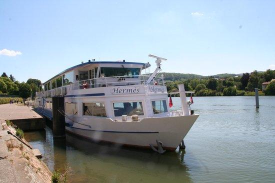 Bateau Hermes: Le bateau