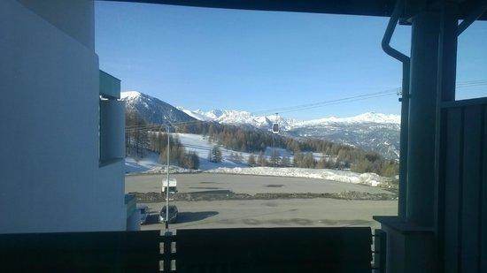 Villaggio Olimpico Sestriere: Vista dalla nostra stanza