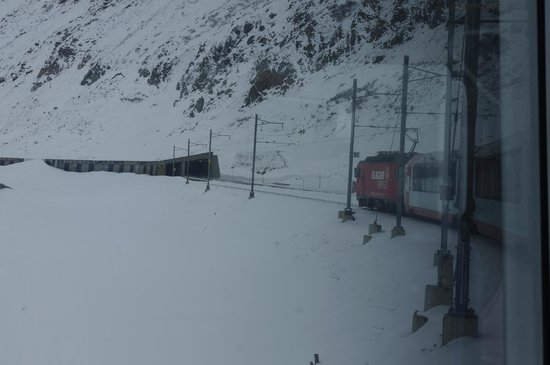 Glacier Express: Oberal pass
