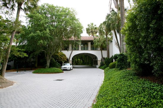 The Cloister at Sea Island : Entry to OceanSide Villas