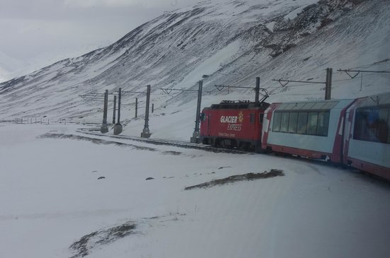 Glacier Express: After Oberal pass